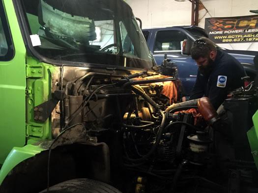 Large Diesel Truck Repairs