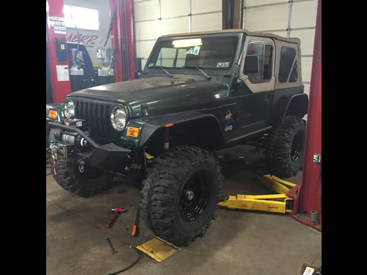 Jeep Customizing & Repairs